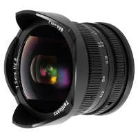 Объектив 7Artisans 7.5mm F2.8 Sony Fisheye E-mount Чёрный